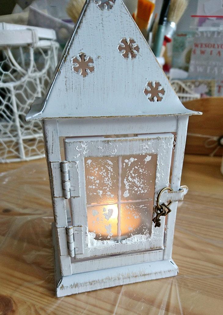 zimowa latarenka